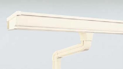 雨樋交換ミルクホワイト