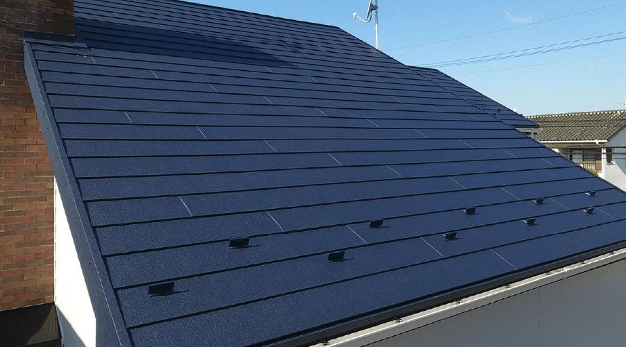 アイジールーフ スーパーガルテクト|屋根サイディング|取手市・阿見町の外壁塗装・屋根塗装は幸和建装