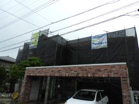 土浦市M様邸 外壁塗装工事②