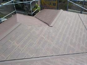 阿見町K様邸 屋根外壁 塗装工事①